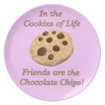 Amigos - galletas de la vida platos