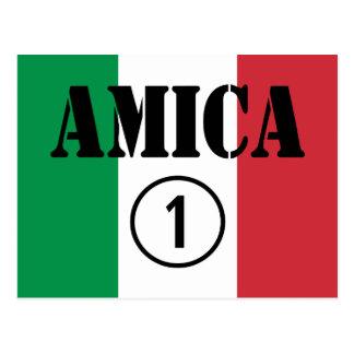 Amigos italianos: Uno de Amica Numero Postal