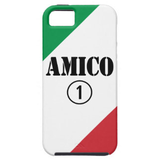 Amigos italianos: Uno de Amico Numero Funda Para iPhone 5 Tough