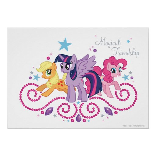 Amigos mágicos adaptables posters
