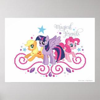 Amigos mágicos posters