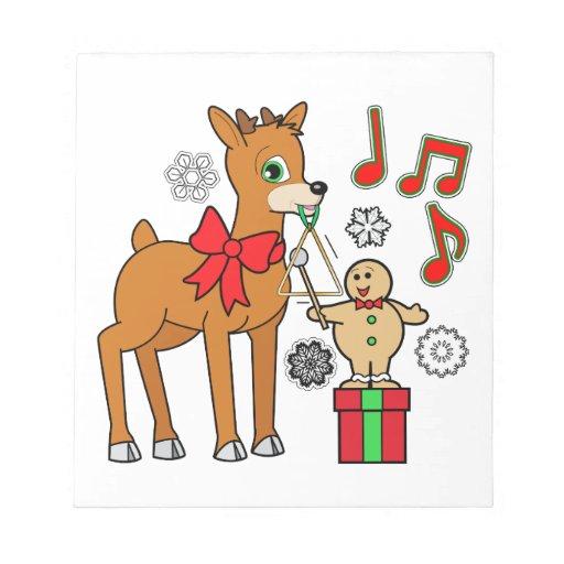 Amigos, música: &Reindeer del muchacho del pan de  Bloc De Papel