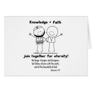 Amigos para la eternidad tarjeta