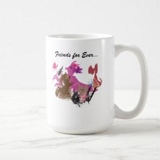 Amigos para nunca… la taza