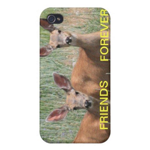 Amigos para siempre 4/4s iPhone 4 carcasas