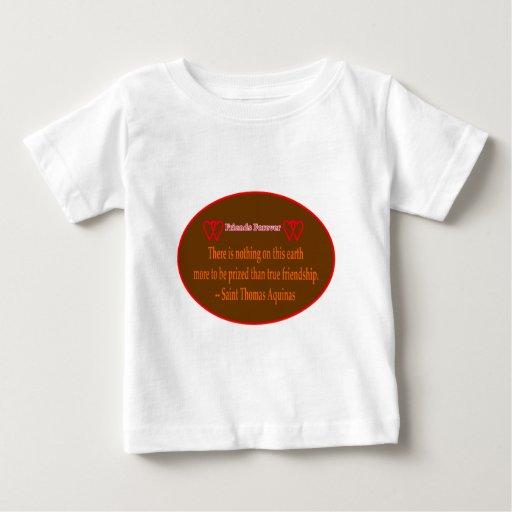 Amigos para siempre blanco Santo Tomás Brown de 2 Camisas