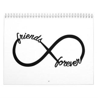 Amigos para siempre calendario