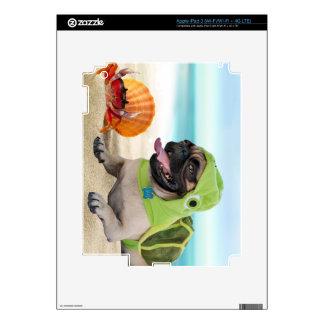 Amigos para siempre: Cangrejo + Barro amasado de Pegatina Skin Para iPad 3