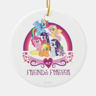 Amigos para siempre ornatos