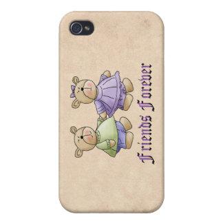 Amigos para siempre iPhone 4/4S carcasas