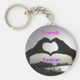 Amigos para siempre llavero