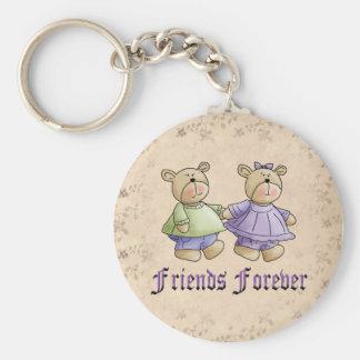 Amigos para siempre llaveros