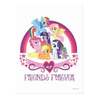 Amigos para siempre postales