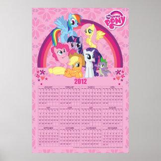 Amigos para siempre poster de 2012 calendarios