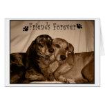 Amigos para siempre tarjeton