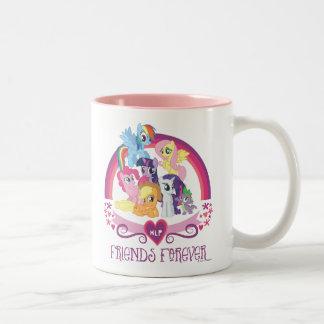 Amigos para siempre taza