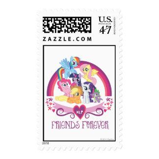 Amigos para siempre timbres postales