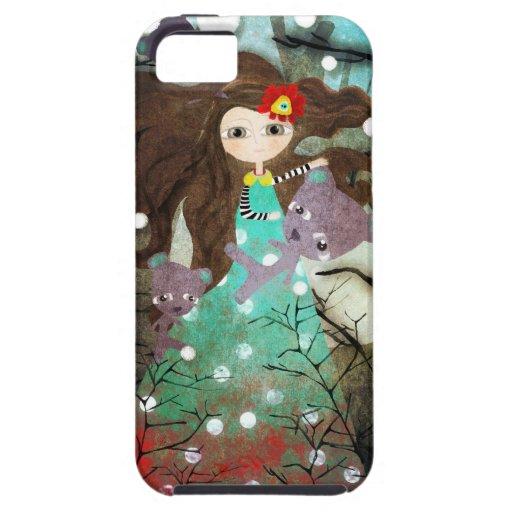 Amigos Polo Norte del navidad iPhone 5 Case-Mate Fundas
