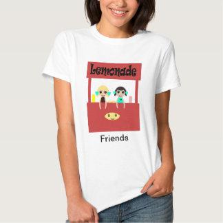 Amigos: Puesto de limonadas Playera