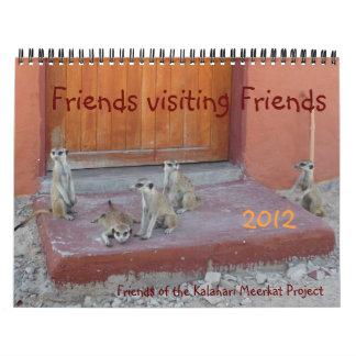 Amigos que visitan a los amigos - calendario 2012