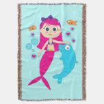 Amigos: Sirena y delfín