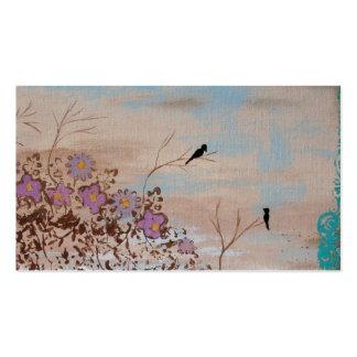 Amigos - tarjeta del perfil del negocio - arte ori tarjetas de visita