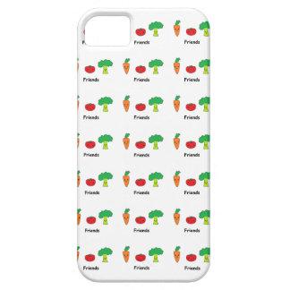 Amigos vegetales felices iPhone 5 carcasa