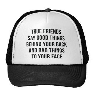 Amigos verdaderos gorros
