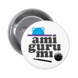 amigurumi 2 inch round button