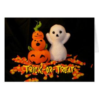 Amigurumi Halloween Card