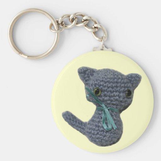 Amigurumi Kitten keychain