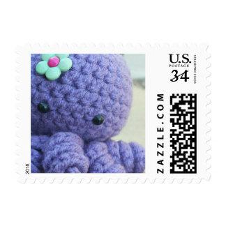Amigurumi Octopus Stamp