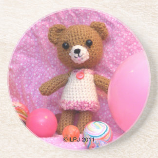 Amigurumi Teddy Bear Coaster