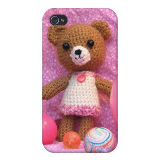 Amigurumi Teddy Bear iPhone 4 Case