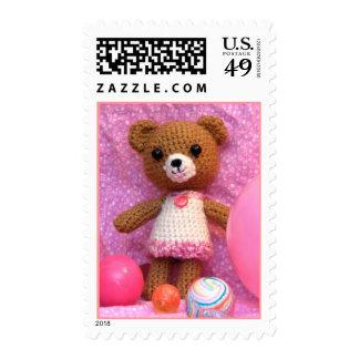 Amigurumi Teddy Bear Postage
