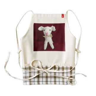 Amigurumi White Goat Apron