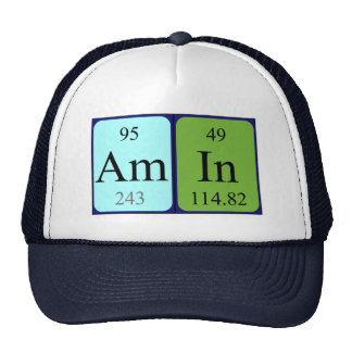 Amin periodic table name hat