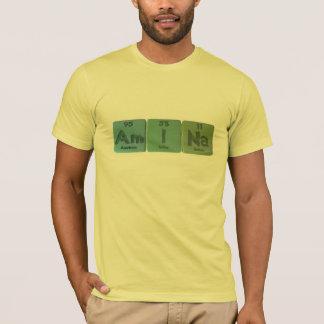 Amina  as Americium Iodine Sodium T-Shirt