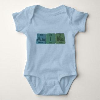 Amina como sodio del yodo del americio camisetas