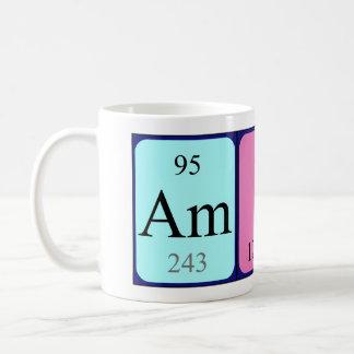 Amina periodic table name mug