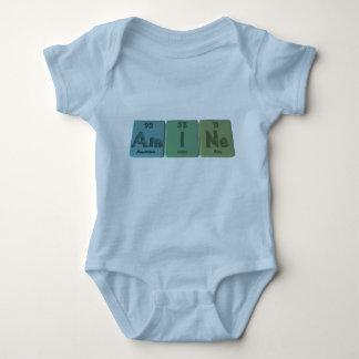 Amina-Ser-Yo-Ne-americio-yodo-Neón T-shirts