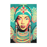 Aminata artwork one stretched canvas gallery wrapped canvas