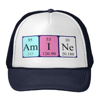 Amine periodic table name hat