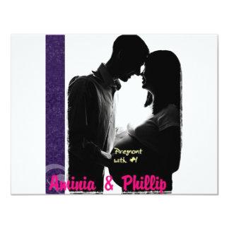 Aminia & Phillip Pregnant Card