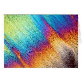 Amino Acid under the Microscope Greeting Card