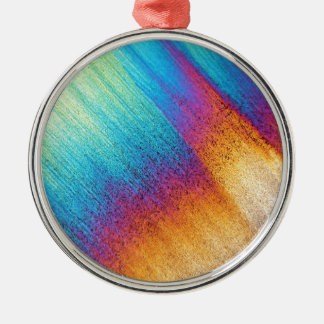 Amino Acid under the Microscope Metal Ornament
