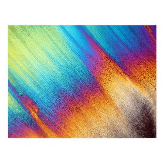 Amino Acid under the Microscope Postcard