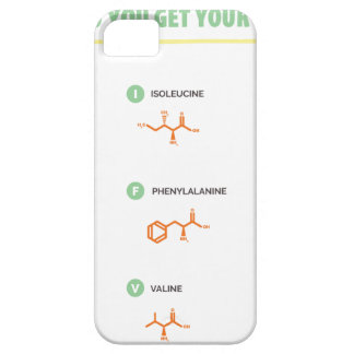 Amino Acids - Where do you get your protein? iPhone SE/5/5s Case
