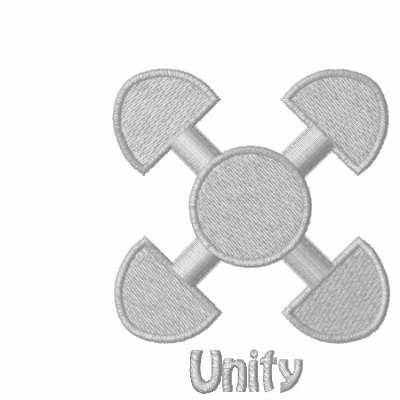 Amiot Gallery Adinkra - Unity Embroidered sweat Hoody