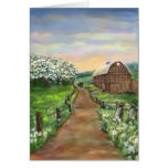 Amish Apple Blossoms Cards